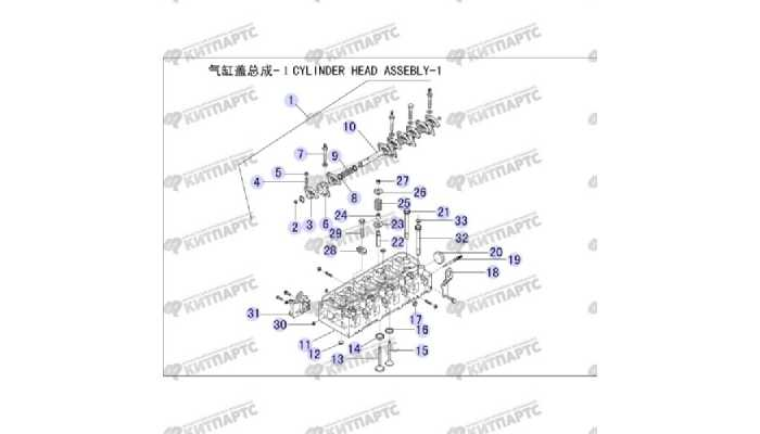 Головка блока цилиндров Great Wall Hover