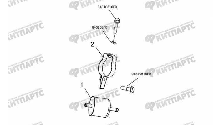 Фильтр топливный Great Wall Hover H3