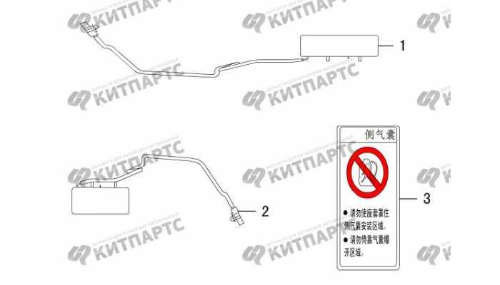 Подушки безопасности боковые Great Wall DW Hower H5