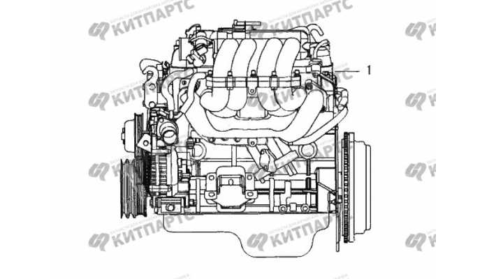 Двигатель в сборе Great Wall Wingle 3